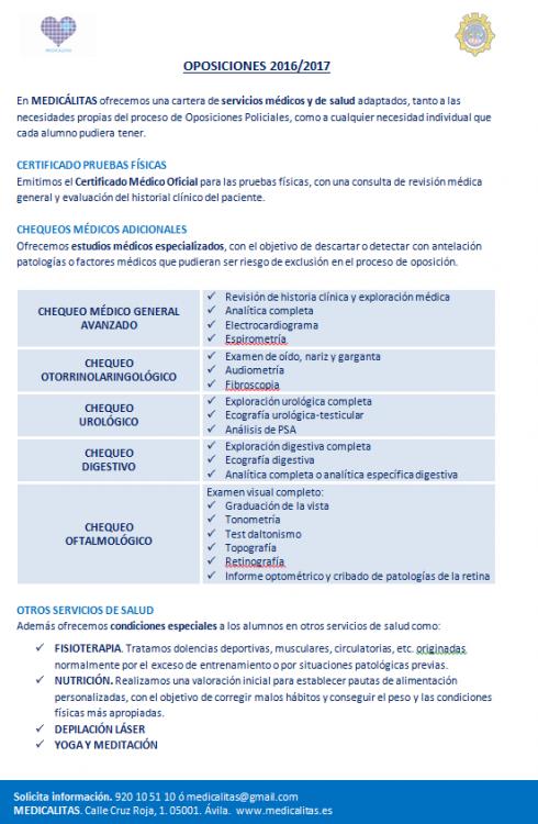 Convenio ACOPOL-MEDICALITAS, ACOPOL