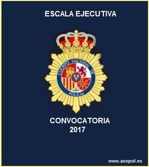 Curso Escala Ejecutiva convocatoria 2017, ACOPOL