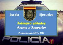 Curso preparación al Cuerpo Nacional de Policía Escala Ejecutiva intensivo sábados promoción año 2019/2020, ACOPOL
