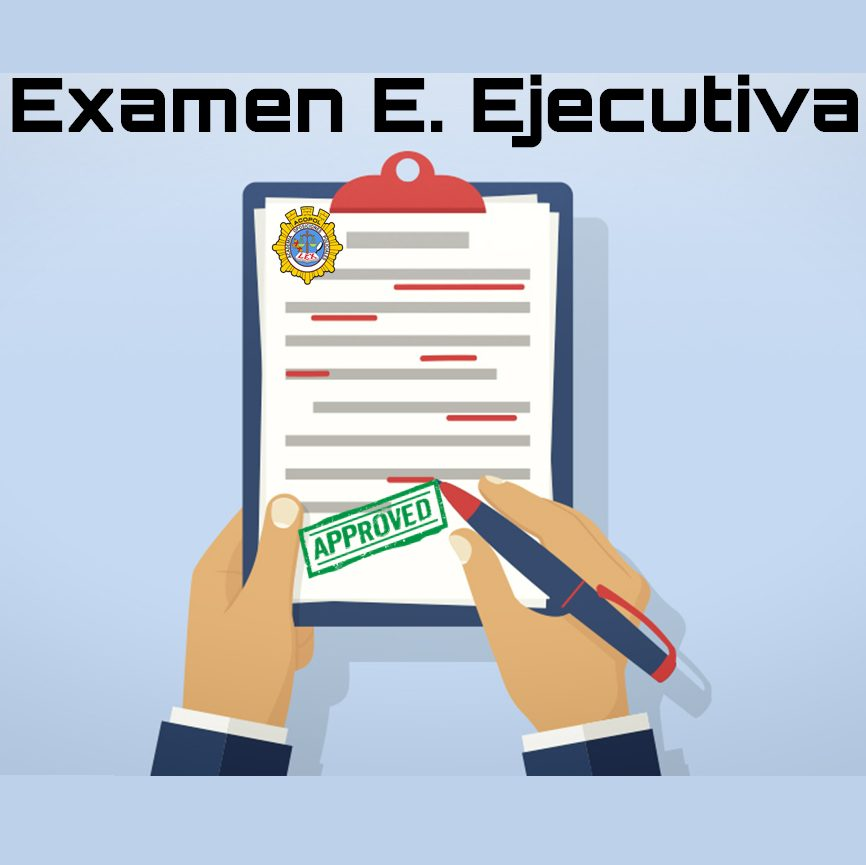Examen conocimiento Escala Ejecutiva 2019, ACOPOL