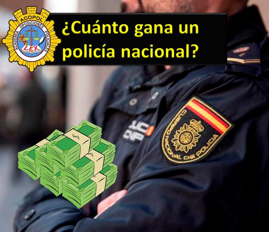 Nomina sueldo policía CNP