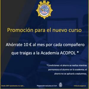 Promoción Academia ACOPOL