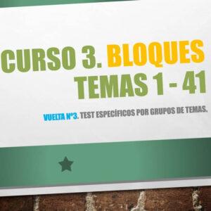 Curso 3, Bloques