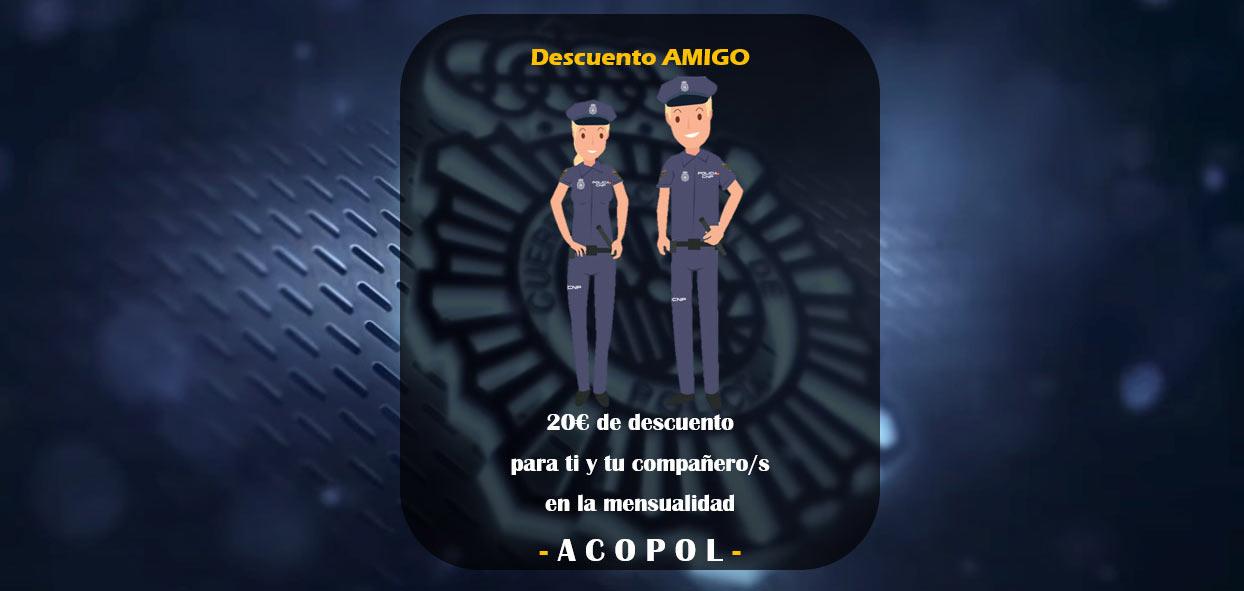 Descuentos Cursos Policía Nacional 2021, ACOPOL