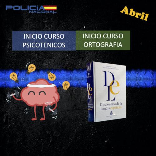 curso psicotécnicos y ortografía oposición policía nacional